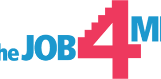 "Logo ""the job 4 me"""