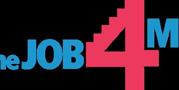 "Logo ""the job 4 me"""